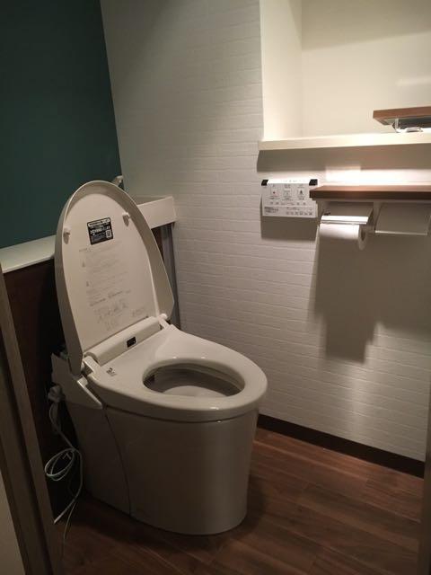 トイレのリフォーム(マンション) 担当:橋本