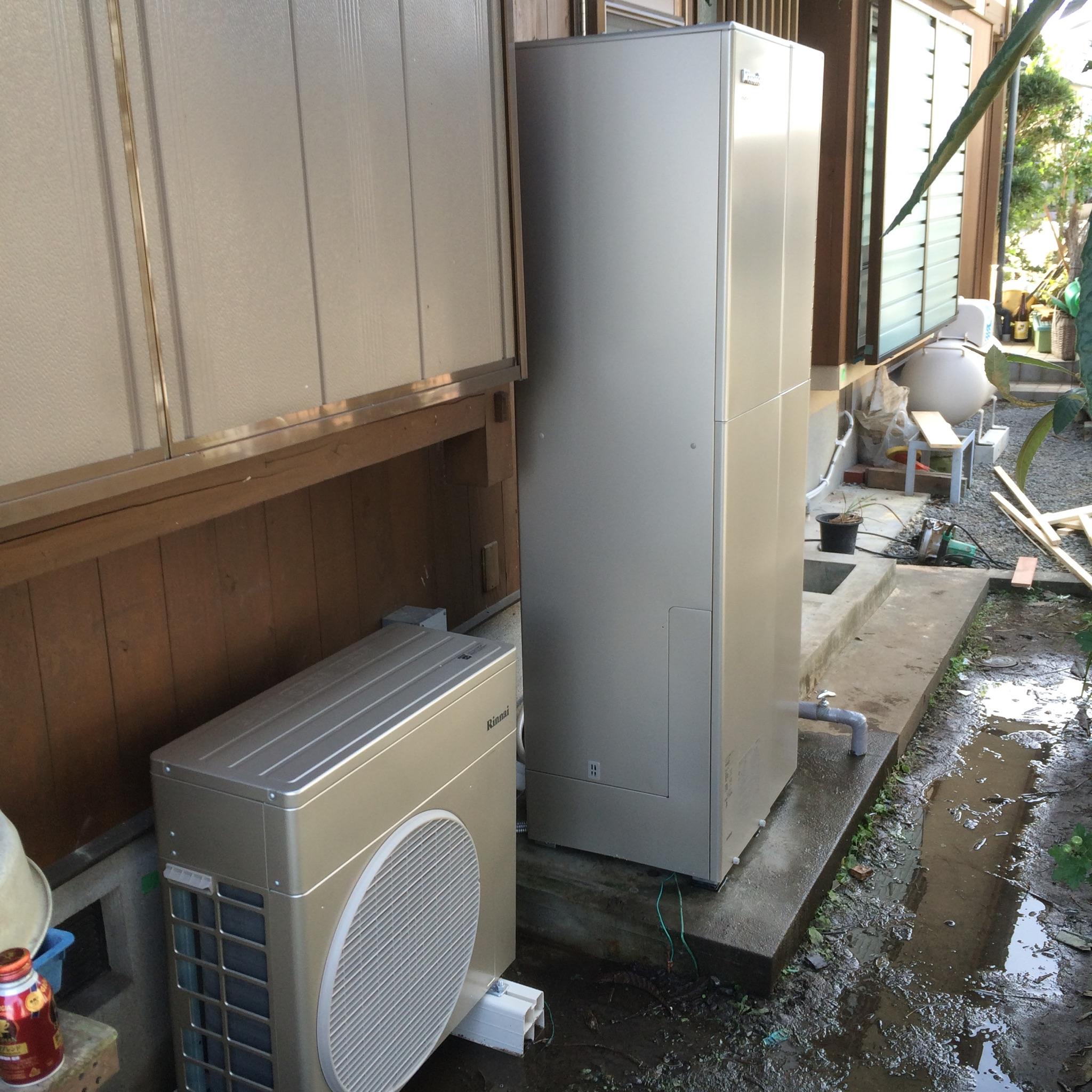 電気とガスの「良いとこどり」したハイブリット給湯器