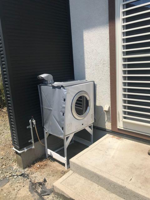 レンタル(無料)で実際に使ってみて、ガス衣類乾燥機「乾太くん」設置